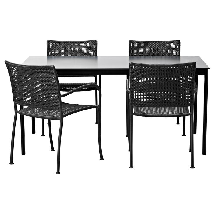 GARPEN L CK Table And 4 Chairs IKEA PatioQ Pinterest