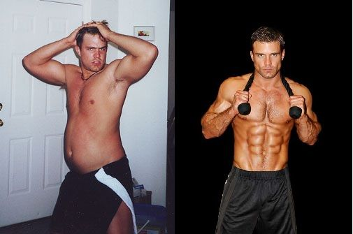 weight loss pictures men