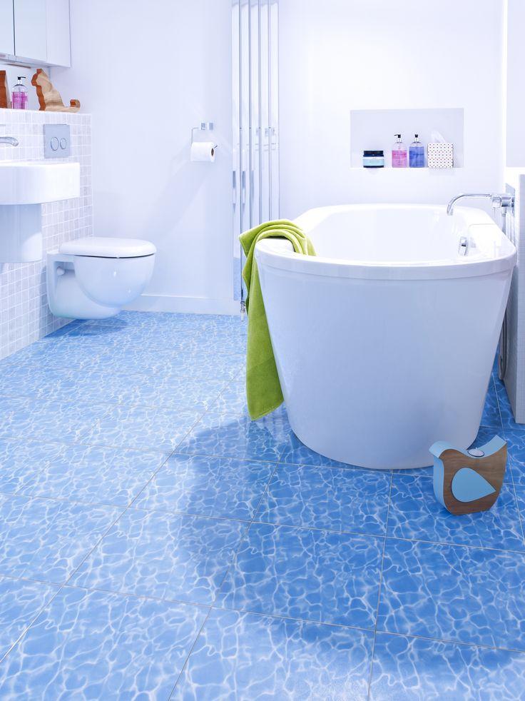 21 best feature floors images on pinterest bathroom for Pool bathroom flooring