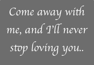 Come Away With Me by Norah Jones.   #norah #jones #come #away #me #living #song #lyrics