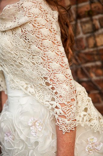 Shawl Of The Moirae - Crochet Shawl Wrap Pattern, Lace ...