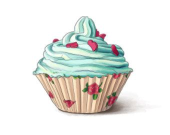 cupcakes desenho vintage - Pesquisa Google