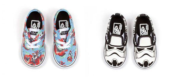Le Vans dedicate a Star Wars arrivano anche per bambini. Tutti i modelli