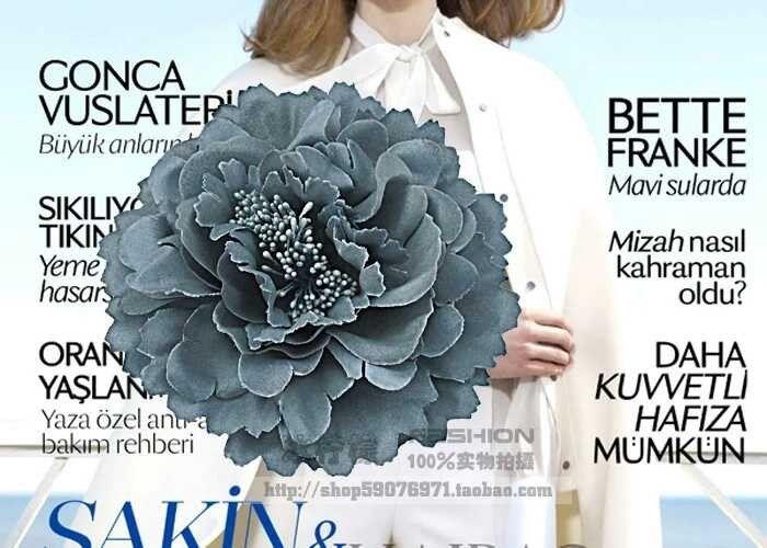 Ткань цветов заколки, Цветок корсаж брошь, Женщины цветок головные уборы свадебный ну вечеринку подарок купить на AliExpress