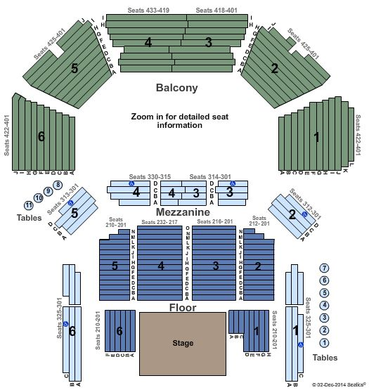 ACL Live At The Moody Theater Seating Chart Seating Charts Music