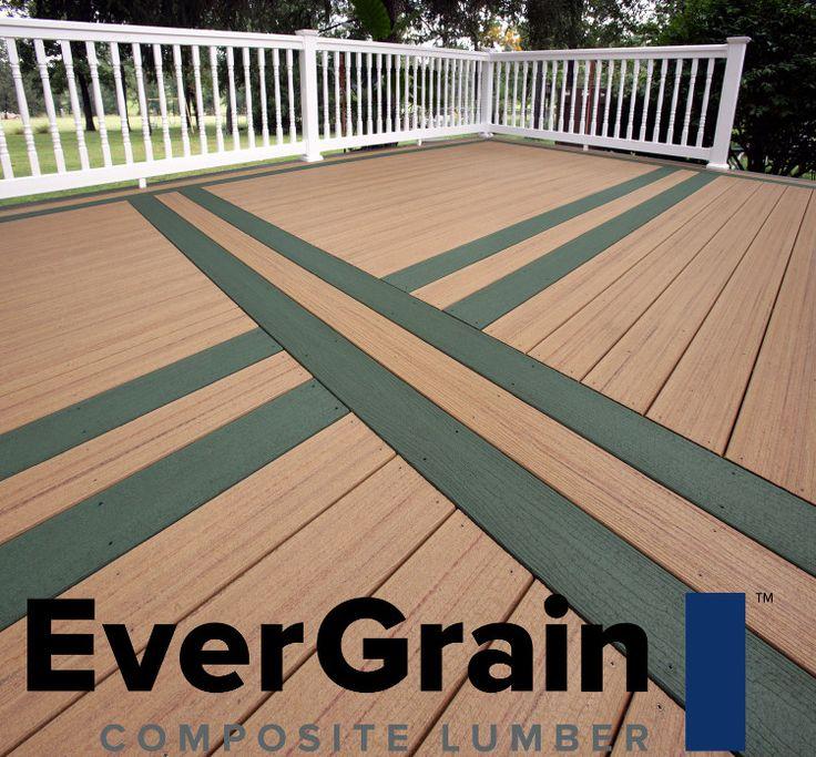 28 best deck materials images on pinterest composite for Evergrain com