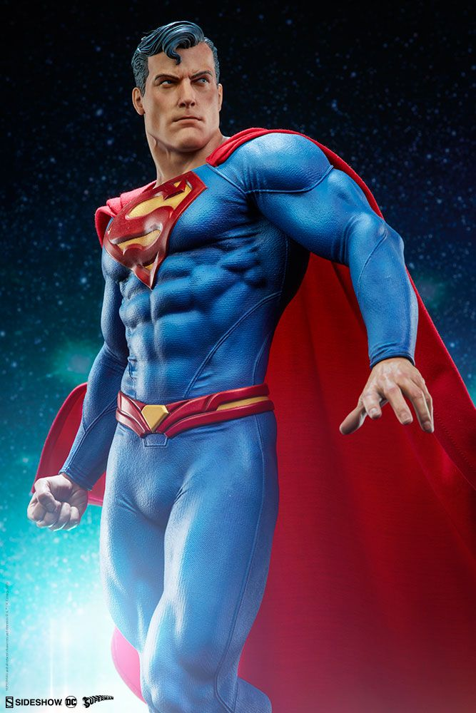 DC Comics Superman Premium Format Figure by Sideshow! | Serpentor's Lair