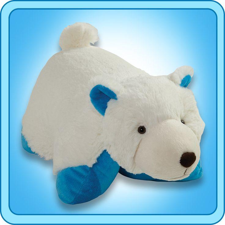 Wintry Polar Bear | My Pillow Pets® Canada