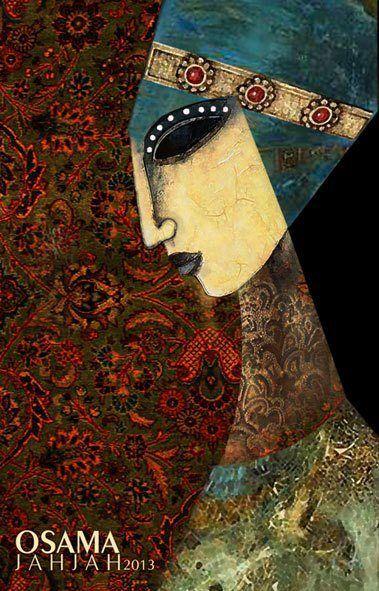 Osama Jahjah, Syrian Artist.