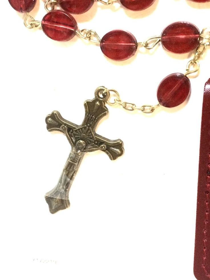 Rosary, David, Necklace With Case