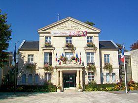 L'hôtel de Ville de Nogent