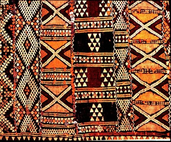 Traditional African cloth
