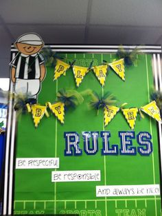sports themed classroom decorating ideas - Google Search