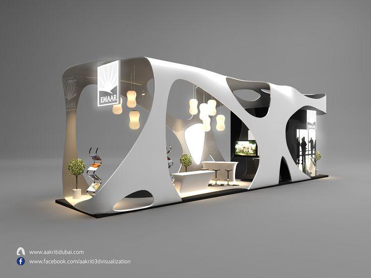 Exhibition Stand On Behance · Exhibition Booth DesignExhibition ...
