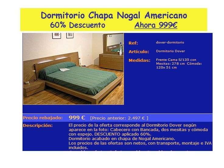 17 best images about muebles dormitorio on pinterest for Muebles en arevalo