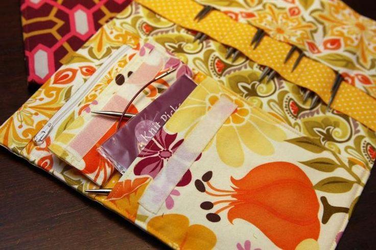 Interchangeable Knitting Needle Case PDF | Craftsy