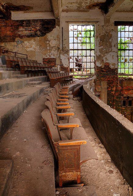 dedicatedtodecay:  Abandoned church auditorium, Gary, Indiana by Timothy Neesam (GumshoePhotos) on Flickr.