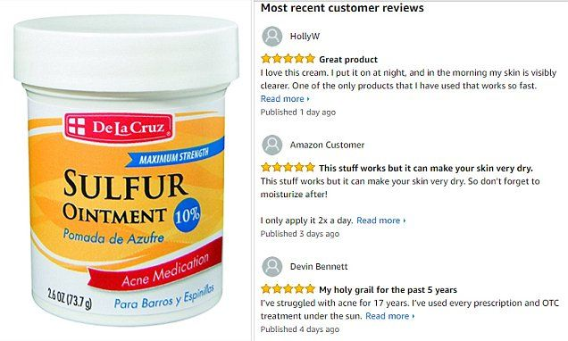 Reddit Users Praise Sulfur Ointment To Treat Cystic Acne