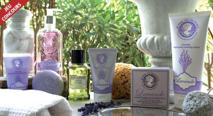 Jeu concours : remportez 50 lots gamme Lavande avec Jeanne en Provence - Vie Pratique Sant�
