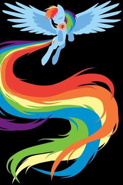Rainbow Dash Element of Loyalty