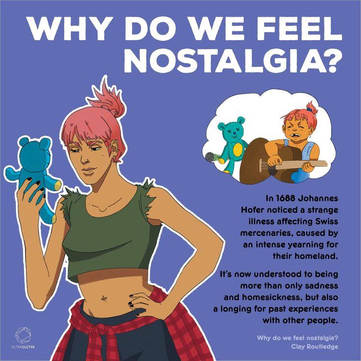 Do you constantly feel nostalgic?