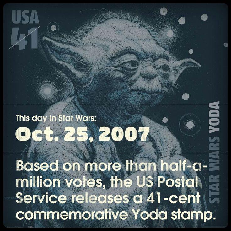 Star Wars postage