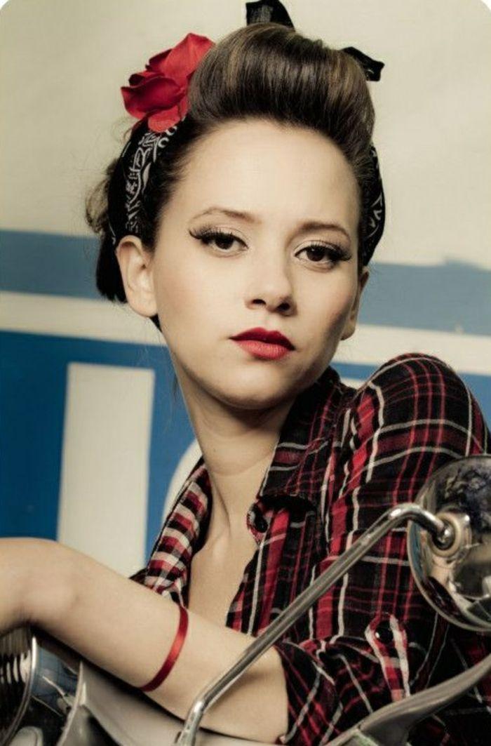 1001 Ideen Für Kurze Rockabilly Frisuren Für Frauen Und