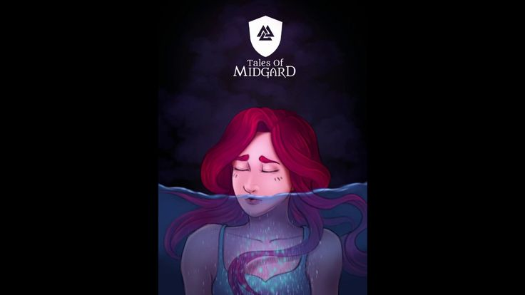 Timelapse digital painting - Drowning - [Tales of Midgard webcomic]