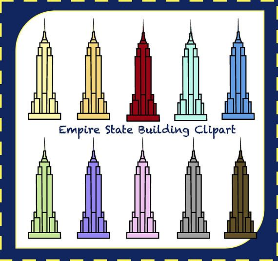 Empire State Building - Building Clipart (#383401) - PikPng