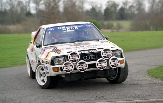 Audio Quattro Rally