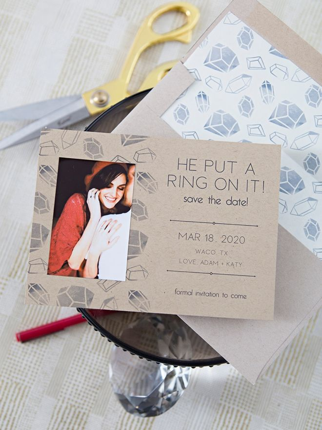 Date Ideas Waco Tx 2020 Use the Canon IVY mini photo printer to make these save the dates