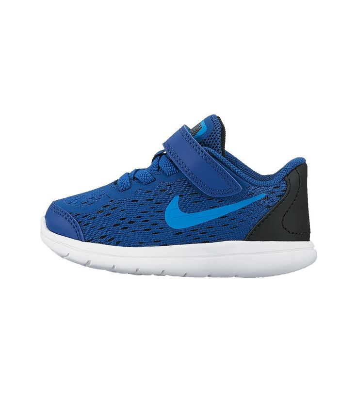 Nike Flex 2017 RN TDV Toddler Gym Blue/Orbit, Kids Footwear, www.oishi-m.com