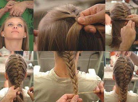 Penteados simples para crianças