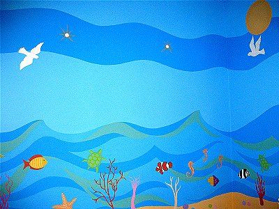 Painting Waves On Walls Google Search Church Nursery