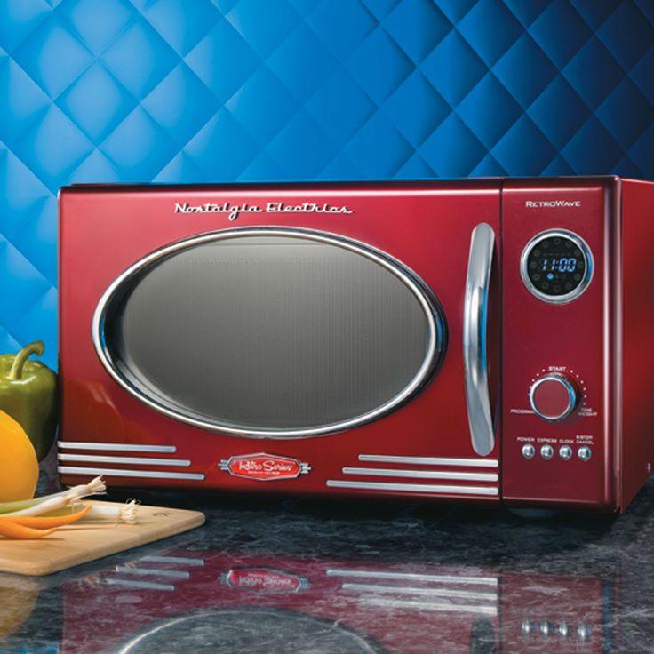 Nostalgia Electrics Retro Series Microwave Oven And Microwaves