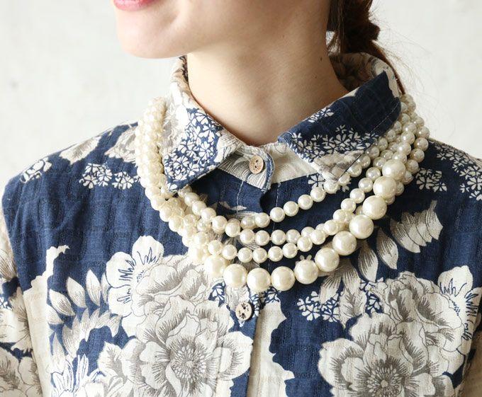 "[Rakuten] [voorraad ♪ dan op 23 april 12:00 & 22] ""franse"" adult bloemen shirt jurk: cawaii"