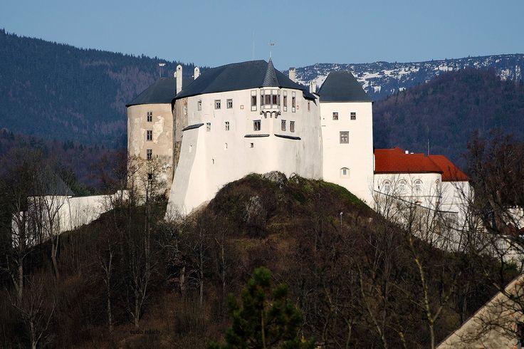 Hrad v krajine - Slovenská Lupča -  http://www.hradlupca.sk/