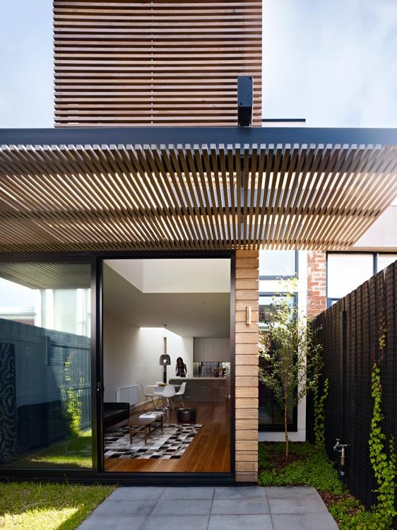 albert park residence / pp Pinned to Garden Design - Pergolas by Darin Bradbury.