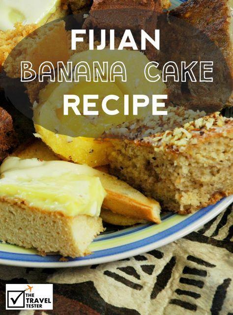 Philippinische banane kuchen