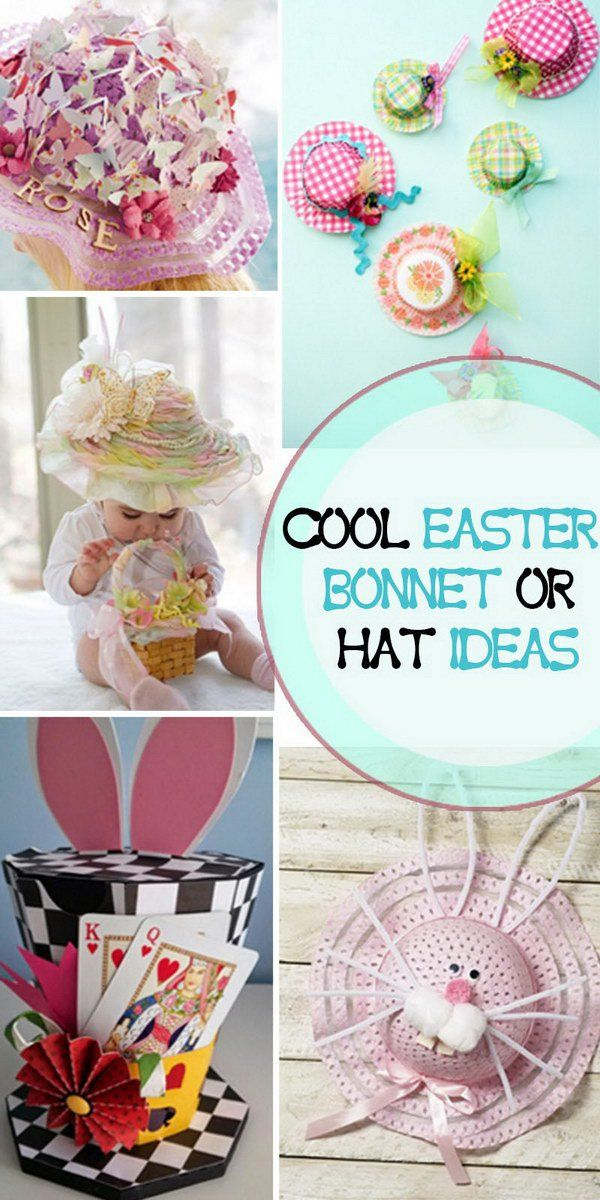 Cool Easter Bonnet or Hat Ideas!
