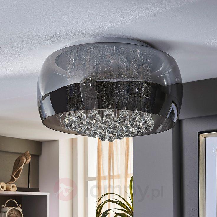 Elegancka kryształowa lampa sufitowa LED Leona 9620801