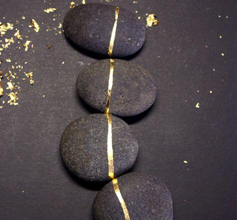 Gold Leaf Rocks