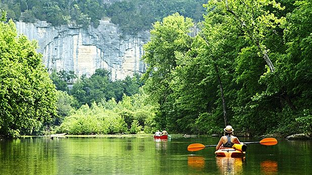 Fayetteville, Arkansas: Kayaking on the Buffalo River. Hiking through the Ozark National Forest. Trout fishing on the Illinois River.