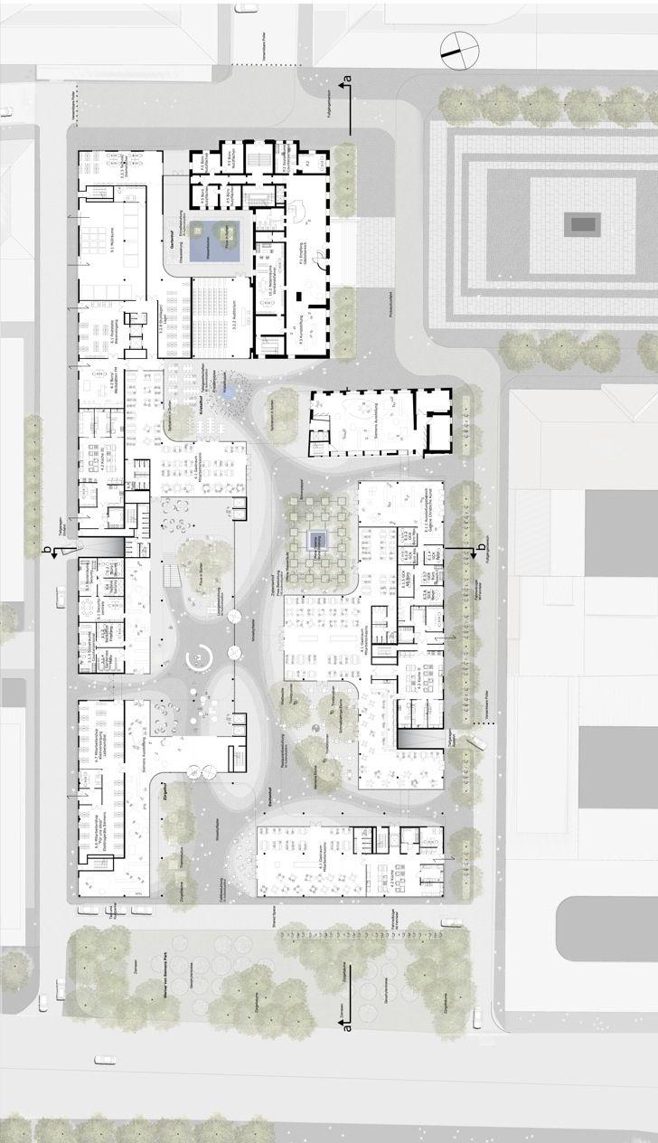 41 best floor plans images on pinterest floor plans siemens headquarters henning larsen architects