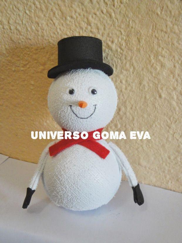 http://www.goma-eva.es/munecos-de-nieve-de-goma-eva/
