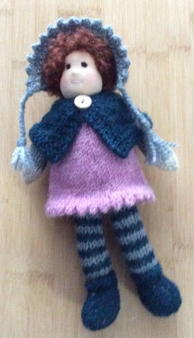 Knitted Waldorf Doll by SweetCheekDolls on Etsy