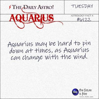 Aquarius 6122: Visit The Daily Astro for more facts about Aquarius.You can get a free instant birth chart here.