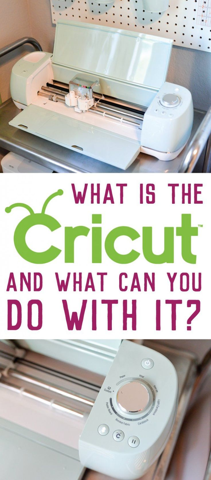 What is the Cricut Explore machine and what does it do? If all of your friends have this amazing electronic cutter, but you're clueless about what it is and what you can do with it, this post is for you. AD