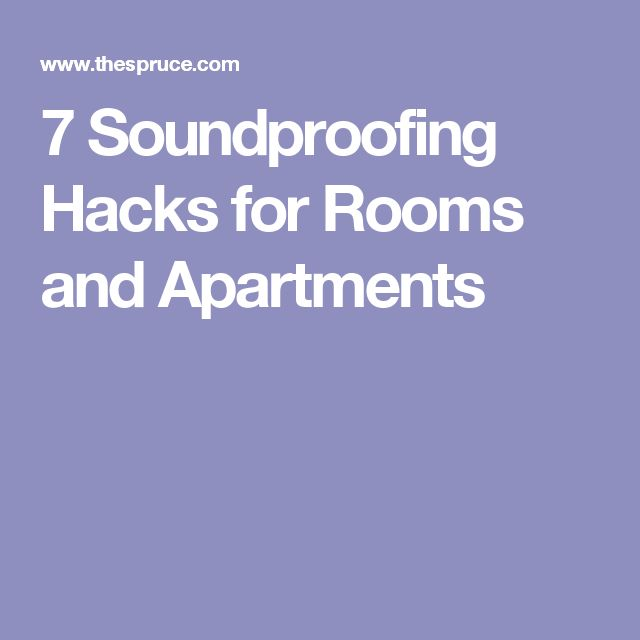 25+ best ideas about Soundproof apartment on Pinterest | Apartment ...