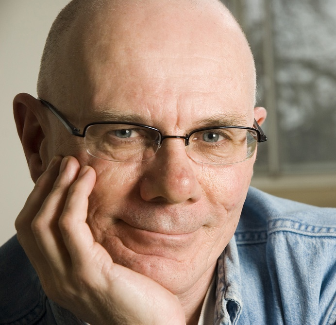 Playwright & novelist Don Hannah, October 2008